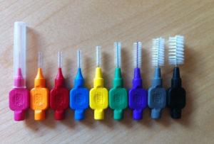 tamaños cepillos interdentales